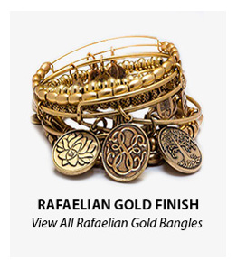Alex and Ani Rafaelian Gold Finish Bangles