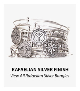 Alex and Ani Rafaelian Silver Finish Bangles