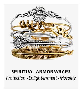 Alex and Ani Spiritual Armor Wrap Bangles