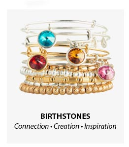 Alex and Ani Birthstone Bangles
