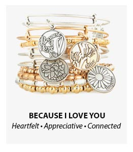 Alex and Ani Because I Love You Bangles