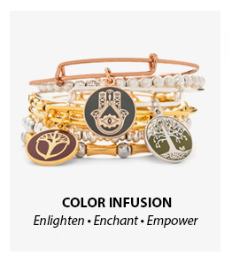 Alex and Ani Color Infusion Collection