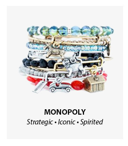 Alex and Ani Monopoly Collection