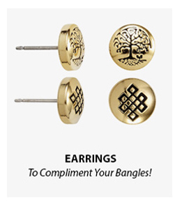 Alex and Ani Earrings